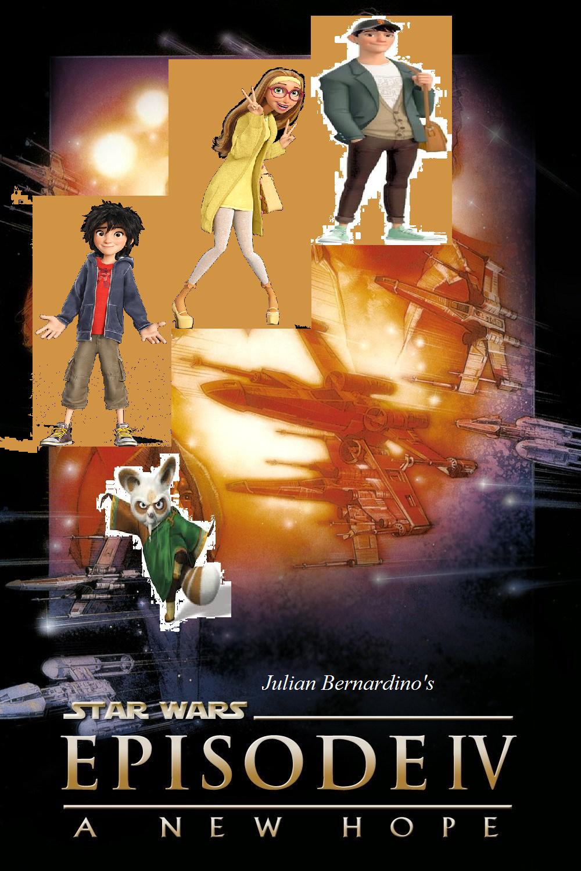 Star Wars Episode 4 - A New Hope (Julian14bernardino style)