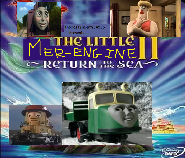 The Little Merengine 2: Return to the Sea (ThomasTenCents34526's Style)