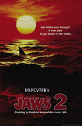 Jaws 2 Poster