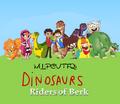 Dinosaurs Riders of Berk (TV Series poster)