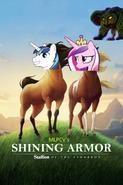 Shining Armor; Dinosaur of the Cimarron Poster