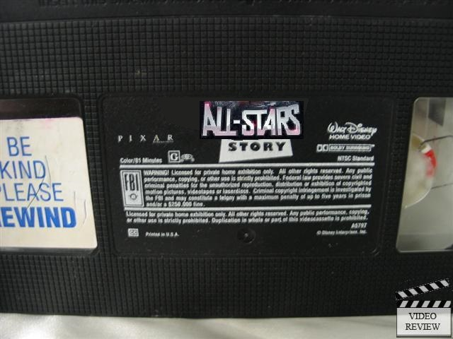 All-Stars Story 1 (VHS Tape)