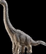 Brachiosaurus from Jurassic Park