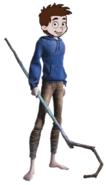 Fred as Jack Frost