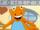 Baloney the Orange Dinosaur