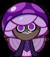 Poison Mushroom Cookie