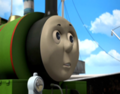 Percy going on the ship