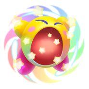 Hypernova Kirby from Kirby Triple Deluxe