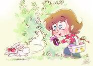 Joyeuses paques avec bichon by princekido d5zwjsm
