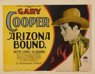 Arizona Bound lobby card