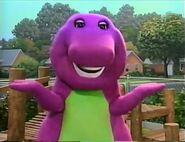 S2: Barney Says- Barney saying his rhyme outside the school