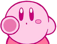 Kirby Pointing (Kirby 25th Anniversary)