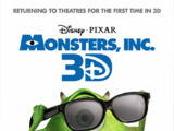 Opening to Monsters, Inc. 3D 2012 Theater (Regal)