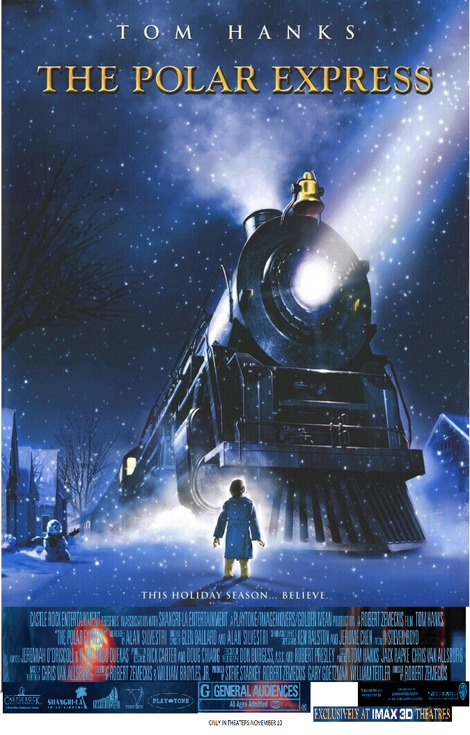 Opening To The Polar Express 2004 Theater Regal Scratchpad Fandom