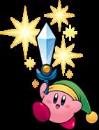 Kirby as Sword Kirby from Kirby Super Star Ultra