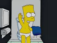 Bart Underwear In Double Double boy in trouble