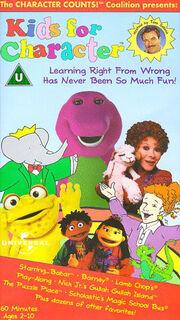 Kids For Character Universal Version UK VHS.jpg