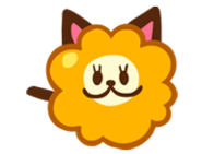 Fluffy Cheese Cat