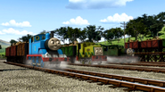 Theo to the Rescue stock footage
