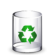 Crystal Clear filesystem trashcan empty.png