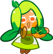 Spinach Cookie