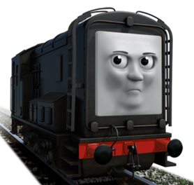 Promotional picture of a snarling Diesel in full CGi
