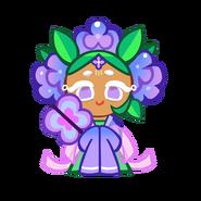 Hydrangea Cookie