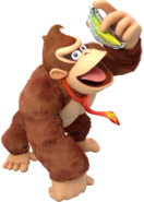 Donkey Kong Holds as Frozen Banana