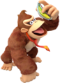 Donkey Kong Holds as Frozen Banana
