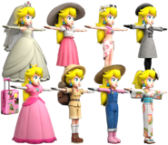Peach casuals outfits