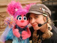 Leslie Carrara and Abby