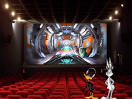 Bugs bunny at the 2012 regal rollercoaster