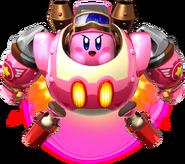 Kirby on Robobot Armor