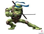 Leonardo sword pose