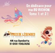 Dedicace de ma bd bichon a toulouse by princekido d9fe2hb