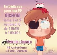 Dedicace a toulouse demain pour bichon by princekido d9flx8j