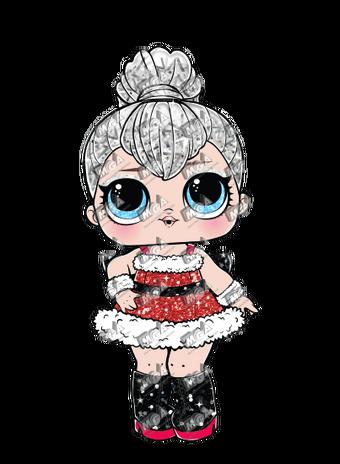 LOL Surprise Series WINTER GLOBE dolls sleigh babe tinsel soldier boi hairvibes