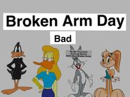 Bugs and Daffy's Girlfriends Have Broken Arms