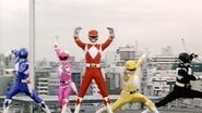 """Mighty Morphin Power Rangers - First Morph and Fight Episode 1 """"Day of the Dumpster"""""""