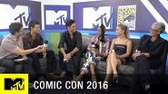The Cast of Scream Queens Discusses the Intimacy on Set Comic Con 2016 MTV