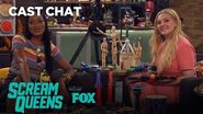 Things Get Weird With Keke Palmer & Abigail Breslin In The Fox Lounge Season 2 SCREAM QUEENS