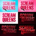 Scream queens logo evolution