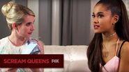 SCREAM QUEENS Between 2 Queens With Emma & Ari