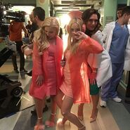 Abi, Billie & Brooke BTS 2x09