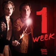 1 week poster