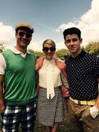 Emma, Nick y Glen