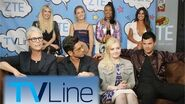Scream Queens Interview - TVLine Studio Presented by ZTE at Comic-Con 2016