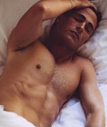 Colton-haynes-shirtless-in-bed-2015 hollygossip-2