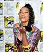 Keke-Palmer -Scream-Queens-Press-Line-at-Comic-Con-International--07