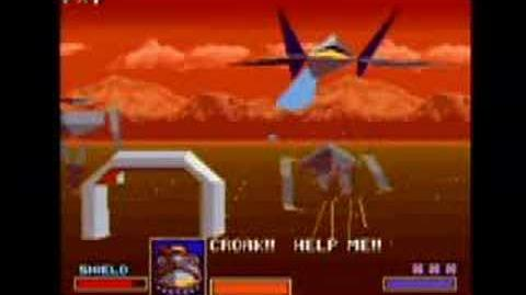 Starfox Video Game Vault (SNES)